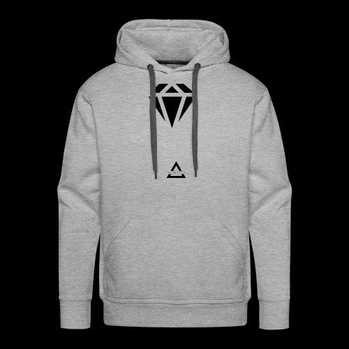 Diamond Short Hoodie - Men's Premium Hoodie