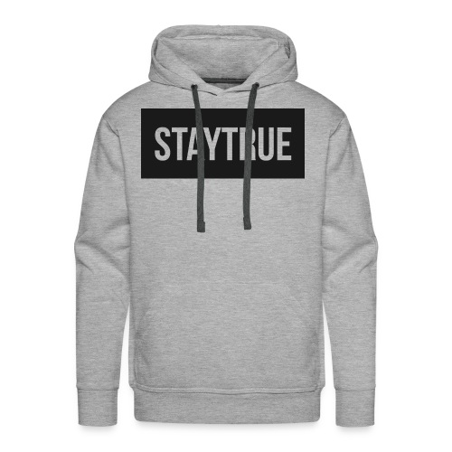 StayTrue Male Hoodie - Men's Premium Hoodie