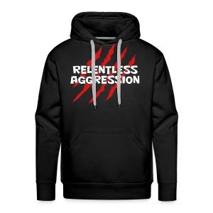 Relentless Aggression Hoodie (Men's) - Men's Premium Hoodie