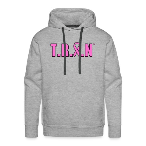 Men's Breast Cancer Awareness Hoodie - Men's Premium Hoodie