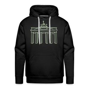 Brandenburg Gate in Berlin - Men's Premium Hoodie