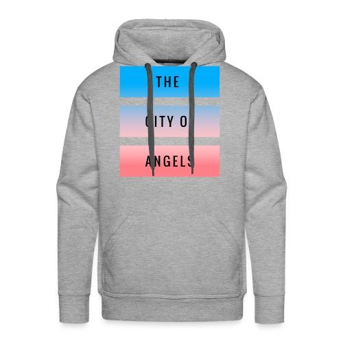 The City Of Angels - Grey - Men's Premium Hoodie