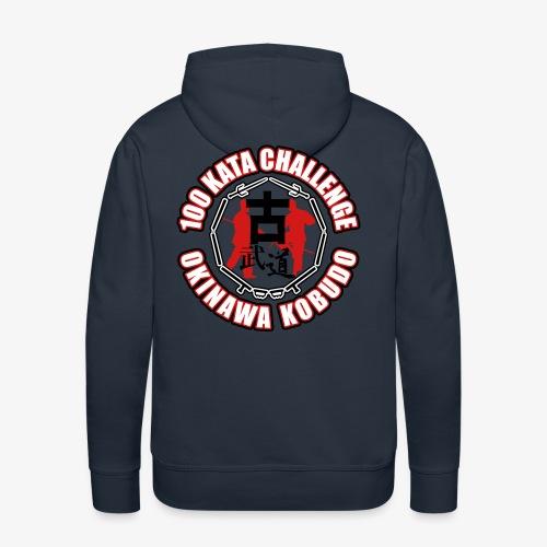 Men's Premium Hoodie - Uechi,Training,Shotokan,Shorin,Shito,Ryukyu,Ryu,Okinawa,Matsubayashi,Martial,MMA,Kyokushin,Kumite,Kobudo,Kobayashi,Kata,Karate,Japan,Goju,Fight,Dojo,Do,Challenge,Arts,100