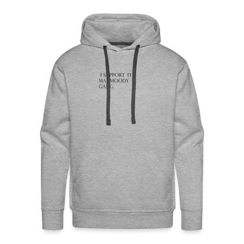 support the mahmoody gang - Men's Premium Hoodie