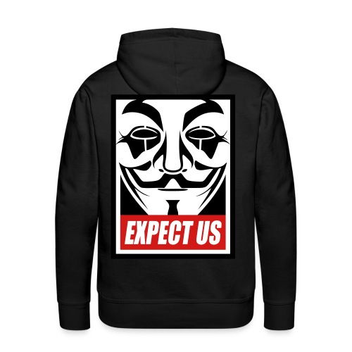 Anonymous Hoodies - Men's Premium Hoodie