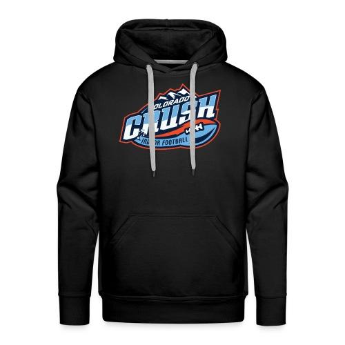 Men's Crush Chest Logo Hoodie - Men's Premium Hoodie