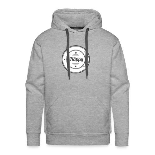 Be Happy Hoodie - Men's Premium Hoodie