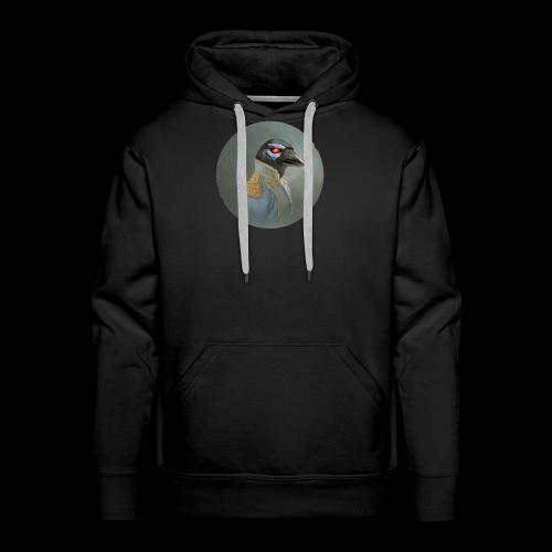 Male CrowKano Premium Hoodie - Men's Premium Hoodie