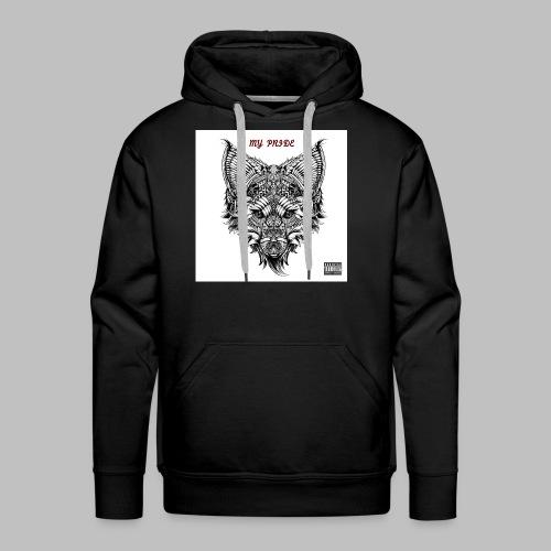My Pride EP Men's Black Hoodie - Men's Premium Hoodie