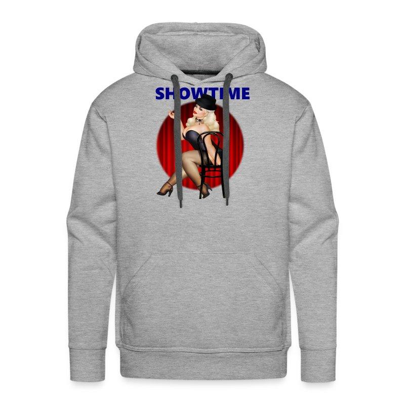 Trisha SHOWTIME.png - Men's Premium Hoodie