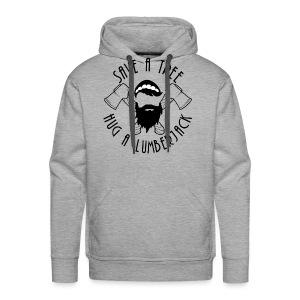 Lumberjack Hoodie - Men's Premium Hoodie