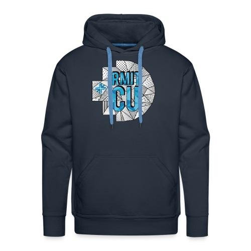 RMITCU Navy Hoodie (Coloured Logo) - Men's Premium Hoodie