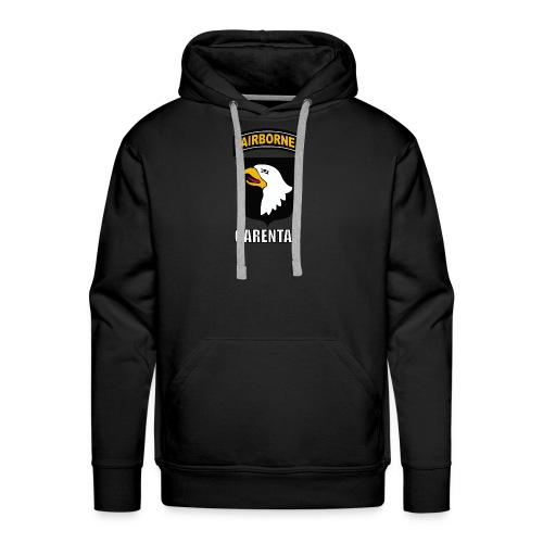 Airborne Carentan Hoodie Men - Men's Premium Hoodie