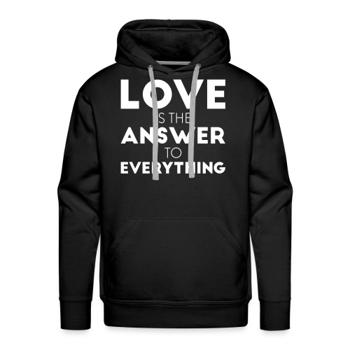 answer - Men's Premium Hoodie