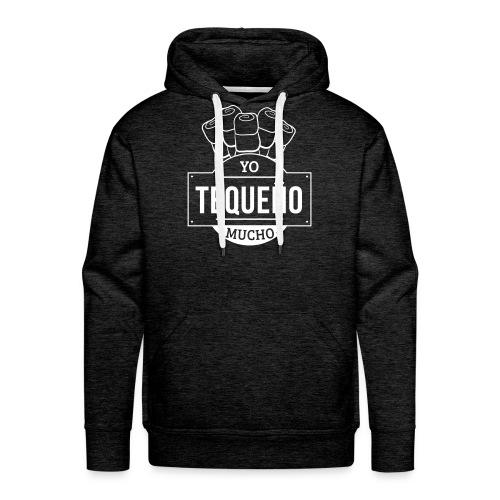 Tequeño Mucho Sweater - Gray - Men's Premium Hoodie