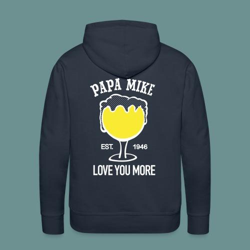 MENS HOODIE- Papa Mike - Men's Premium Hoodie