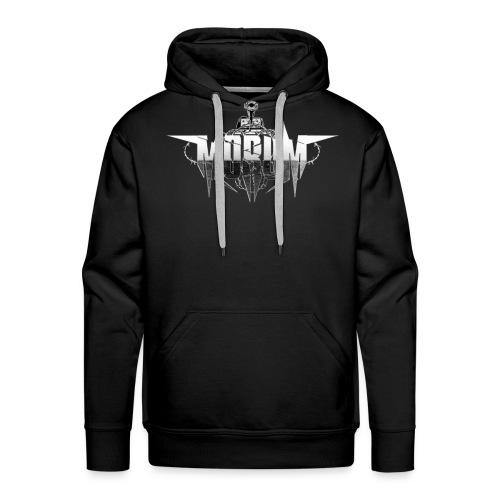 Morum hoodie Logo front - Men's Premium Hoodie