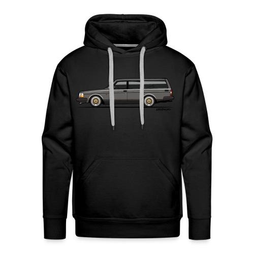 Brick –  245 240 Series Wagon Gray - Men's Premium Hoodie