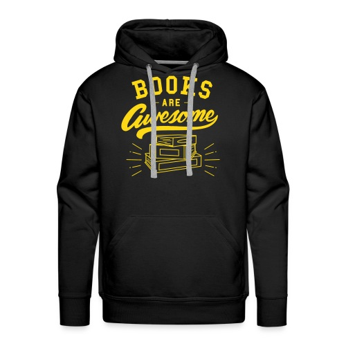 Books Are Awesome - Men's Premium Hoodie