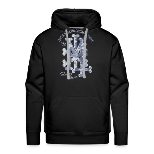 MM LXM MONOGRAM CAMO - Men's Premium Hoodie
