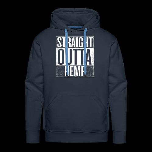 Men's Hoodie - Straight Outta Hemp - Men's Premium Hoodie