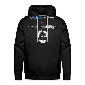 """""""Sanders or Savage?"""" Front/Back Pullover Hoodie - Men's Premium Hoodie"""