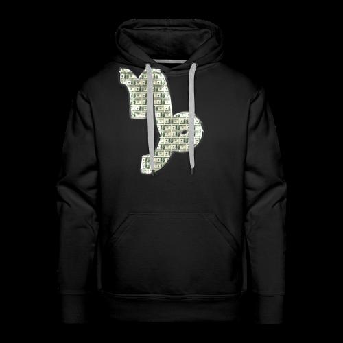 Capricorn Dollar Sign Hoodie - Men's Premium Hoodie