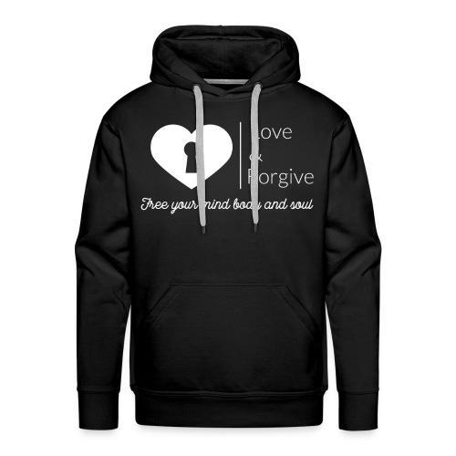 Love and Forgive Hoodie - Men's Premium Hoodie
