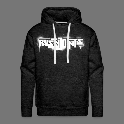 Rusty Joints Logo (Spray) - Men's Premium Hoodie