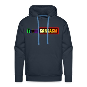 Team Sarcasm Logo (color) - Men's Premium Hoodie