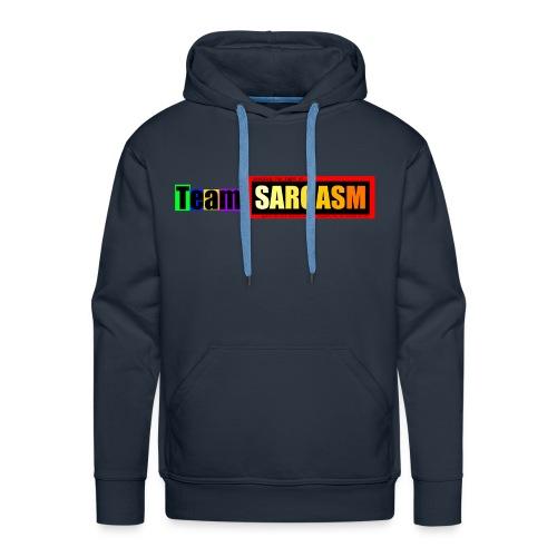 Team Sarcasm Logo (color) - Men's Premium Hoodie