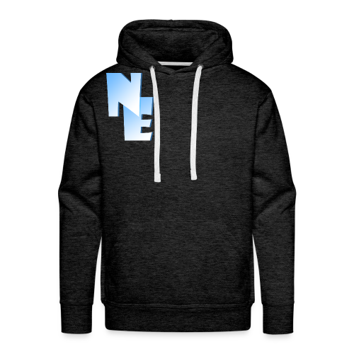 Men's Premium Hoodie - Nippy Eskimo Logo - Men's Premium Hoodie