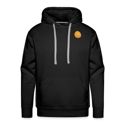 Small Cut Orange Sweater - Men's Premium Hoodie