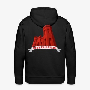 Army Engineers Hoodies - Men's Premium Hoodie