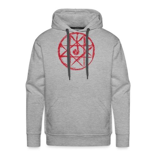 Alchemist - Transmutation Circle - Blood Seal  Hoodie - Men's Premium Hoodie