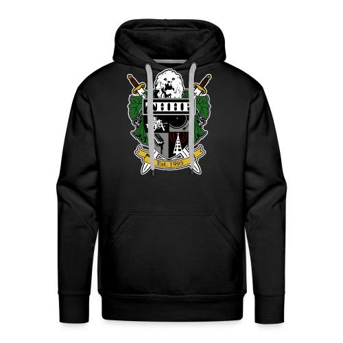 THHP Crest Hoodie (Color) - Men's Premium Hoodie