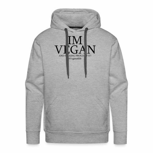 JUBE I'm Vegan Hoodie Men's - Men's Premium Hoodie