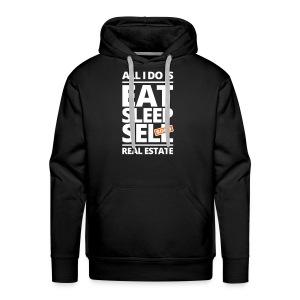 Eat Sleep Sell Men's Hoodie - Men's Premium Hoodie