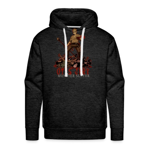 Otis Jiry Monster (Charcoal) - Men's Premium Hoodie
