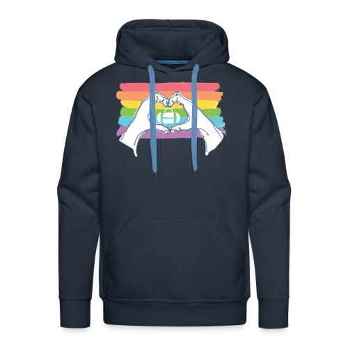 HHT Pride Rainbow Men's Hoodie - Men's Premium Hoodie