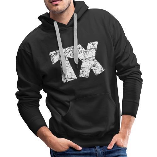 TX Texas Hoodie (Men/Black) - Men's Premium Hoodie