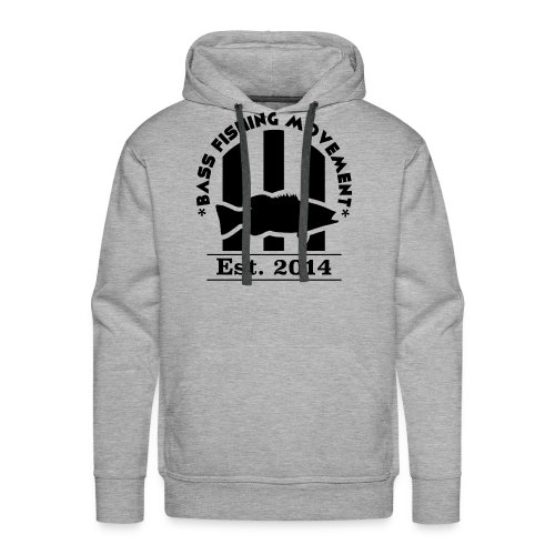 Classic Black Logo Sweatshirt - Men's Premium Hoodie