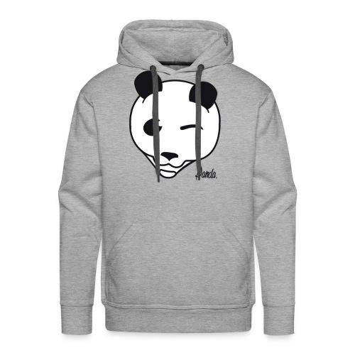 Pandas White Hoodie - Men's Premium Hoodie