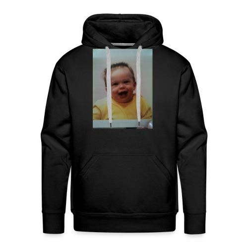 Baby print hoodie - Men's Premium Hoodie