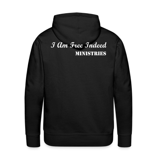 I Fight On My Knees - Men's Premium Hoodie