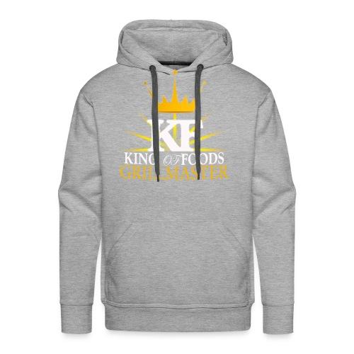 KF Men's Grey Hoodie - Men's Premium Hoodie