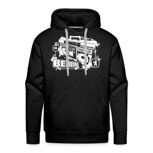 Berlin Ghettoblaster - Men's Premium Hoodie