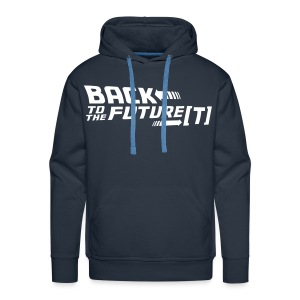 Back to the Future[T] - (Unisex Premium) - Men's Premium Hoodie