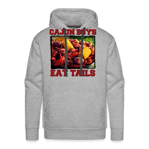 Cajun Boys Eat Tails Hooded Sweatshirt - Men's Premium Hoodie