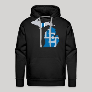 Lions Country - Michigan - Men's Premium Hoodie